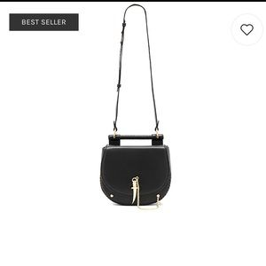 Sancia Babylon Bar Tooth Bag Black